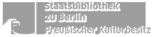 Logo der Staatsbibliothek zu Berlin